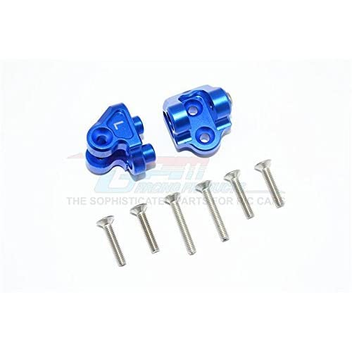 GPM Losi 1/6 Super Baja Rey 4X4 Desert Truck Upgrade Pièces Aluminium Upper Axle Mount Set For Suspension Links - 1Pr Set Blue
