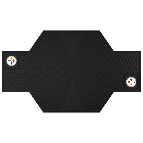 (FANMATS 15331 NFL Pittsburgh Steelers Motorcycle Mat)
