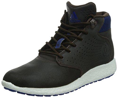 ADIDAS D ROSA LAKESHORE REALCE Hombre Marrón Oscuro Zapatillas Azules Zapatos C774