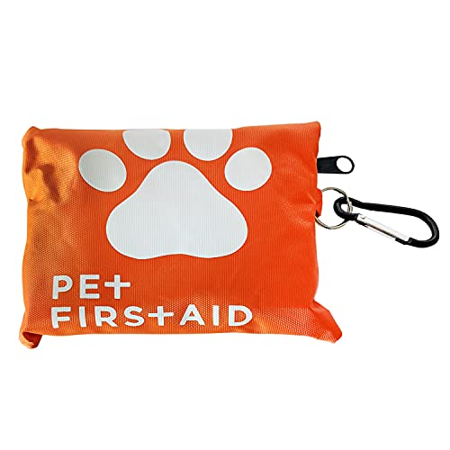 American Pet Supplies Dog First Aid Kit | 19 Piece Pet Emergency Travel Kit for Cats & Dogs