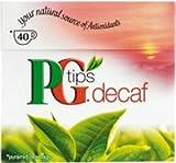 PG Tips Decaf 40 Ct Tea Bags
