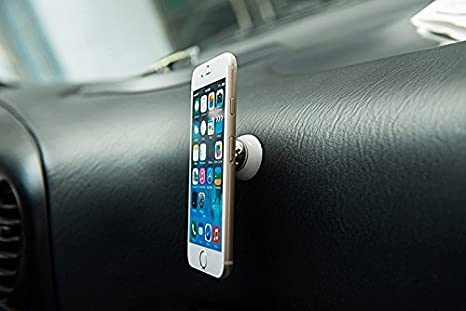 Soporte giratorio magnetico 360º de smartphone gps para coche conduce tranquilo: Amazon.es: Coche y moto