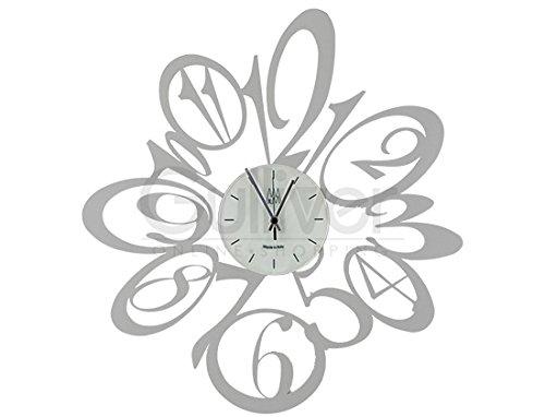 ARTI & MESTIERI [ アルティエメスティエリ ]Orologi Blus ブラス イタリア製 壁掛け時計 ウォールクロック Alluminio 0894 [並行輸入品] B00EL5DLVAAlluminio