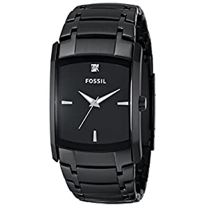 Fossil Analog Black Dial Men's Watch – FS4159