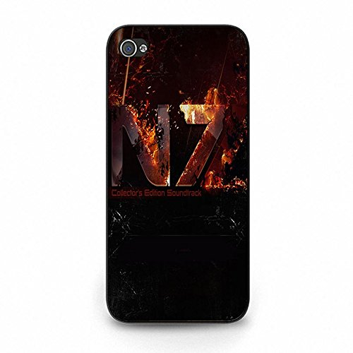 Iphone 5c N7 Unique Design Cover Shell Prime Creative Fire Pattern RPG Game Mass Effect N7 Logo Design Phone Case Cover for Iphone 5c