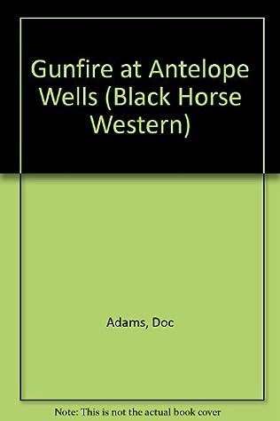 book cover of Gunfire At Antelope Wells