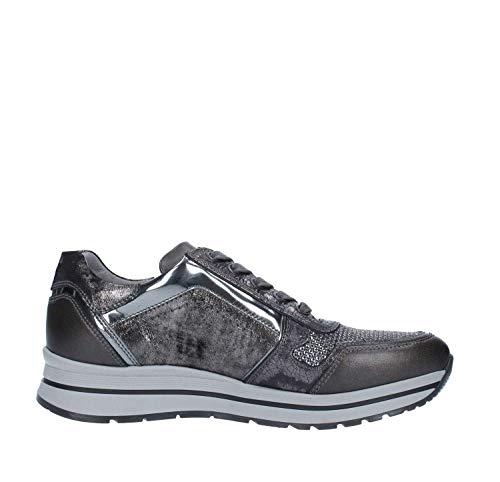 Giardini A806415d Gris Nero De Femme Chaussures Tennis dHPqgaF
