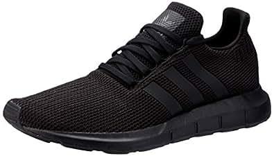 adidas Australia Men's Swift Run Trainers, Core Black/Core Black/Footwear White, 9 US