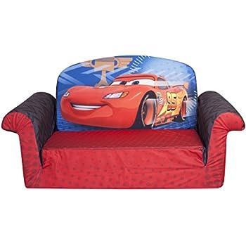 Marshmallow Furniture Childrenu0027s 2 In 1 Flip Open Foam Sofa, Disney/Pixar  Disney Pixar