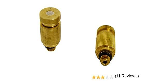 S&M 580529 - Tobera Nebulización Anti-Goteo, 2 Unidades: Amazon.es ...