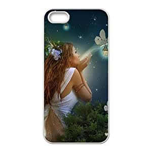 HXYHTY Diy Night Fairy Selling Hard Back Case for Iphone 5 5g 5s