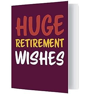 Jot Mark Extra Large Retirement Card