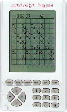 Sudoku Logic hand held number placing game by Baby Product