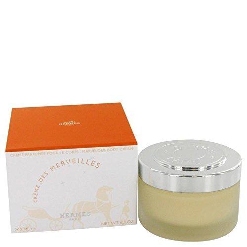 Eau Des Merveilles by Hermes Body Cream 6.7 oz for Women by Hermes