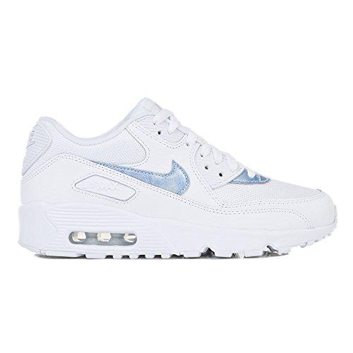 Nike Boys Air Max 90 Mesh Sneaker