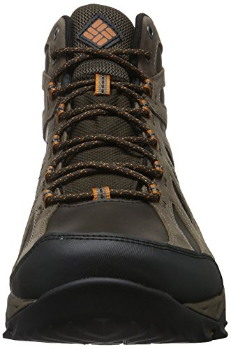 Columbia Peakfreak Xcrsn II Mid Leather Outdry, Scarpe da Arrampicata Uomo Marrone (Cordovan, Bright Copper 231)