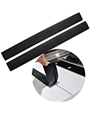Stove Counter Gap Cover, Long Silicone Gap Cover, Gap Filler for Oven Protector,Countertop, Kitchen Appliances, Set of 2 Black by Mofason (21 inch)
