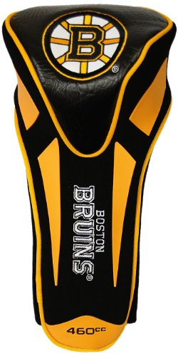 Team Golf NHL Boston Bruins Golf Club Single Apex Driver Headcover, Fits All Oversized Clubs, Truly Sleek Design