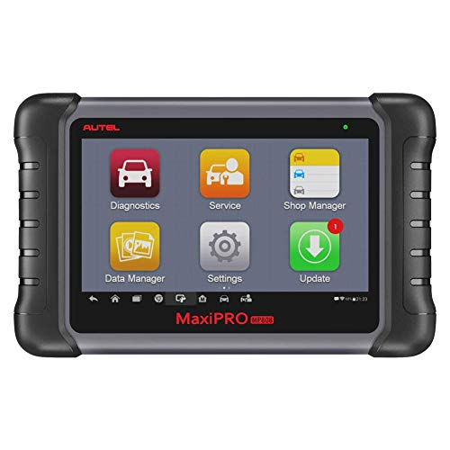 Autel Scanner MaxiPRO MP808 Diagnostic Tool Upgrated DS808 Scan Tool OE-Level Automotive Full System with Bi-Directional Control 18 Special Features Including AutoVIN, Key Coding, Actuation Tests