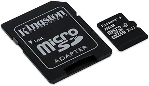 Free Card Reader 8GB SDHC High Speed Class 6 Memory Card for Pentax K2000 Digital SLR Secure Digital High Capacity 8 GB G GIG 8G 8GIG SD HC