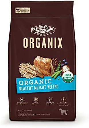 Castor Pollux Organix Organic Healthy Weight Recipe Dry Dog Food