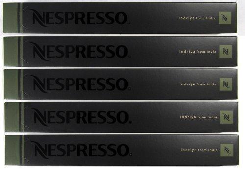 Nespresso OriginalLine: Indriya, 50 Count - ''NOT compatible with Vertuoline''