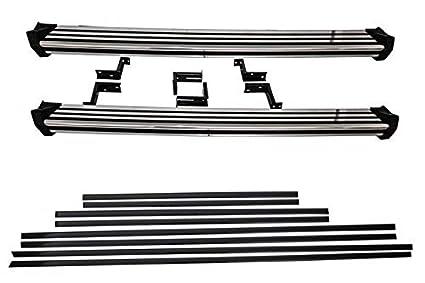 KITT® RBMBW463 - Estribos laterales para correr + molduras para ...
