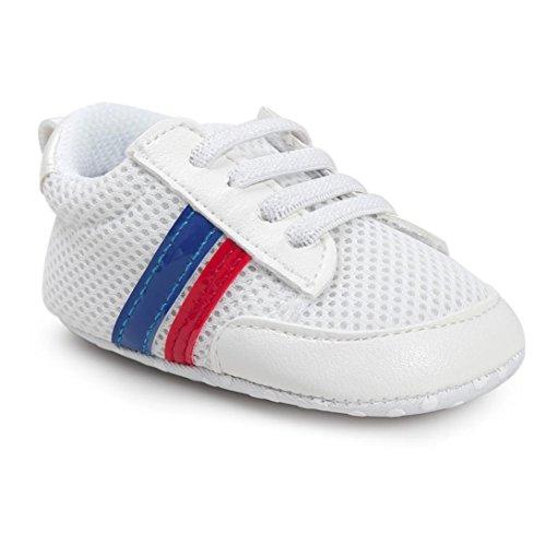 Baby schuhe, Sunnyoyo Nette 0-2 Jahre alt Säuglings kleinkind-Baby-Jungen-Schuh-weicher unterer Antirutschstoff-Sport-Schuh Blau