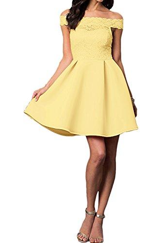 Ballkleid Spitze Kurz Linie Ivydressing A Partykleider Abendkleider Ausschnitt U Nazisse Damen xCwqP87F6