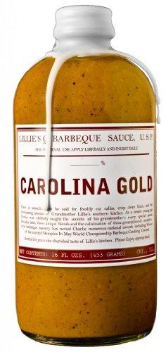 Carolina Bbq Sauce - Lillie's Q Barbeque Sauce-Carolina Gold