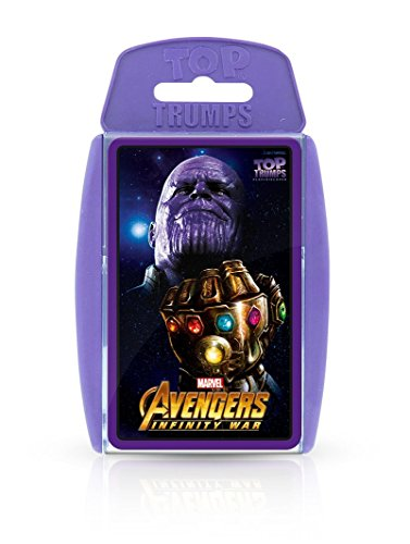 Top Trumps Marvel Avengers Infinity War Card