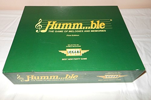Humm...ble Board Game - The Game of Melodies and Memories [First Edition] 1991 (Game First Memory)