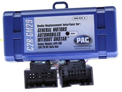 Pac C2rgm29 Vehicle Integration Kit Pac 06-07 Gm Lan 29 Bit Radios C2r-gm29