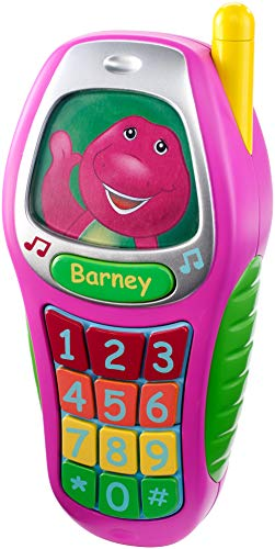 Fisher-Price Barney Best Manners Phone, Pink ()