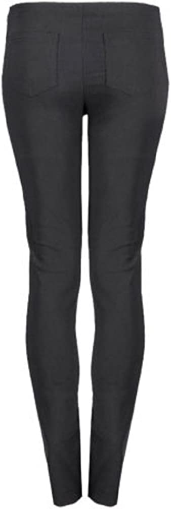 Momo/&Ayat Fashio Girls School Uniform Soft Zip Slim Fit Bengaline Trousers Age 2-16 Years