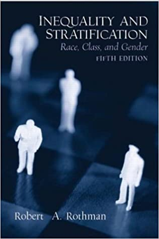 Inequality & Stratification Race, Class & Gender (Paperback, 2004) 5th EDITION