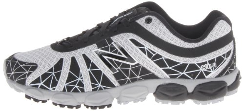 888098067965 - New Balance KJ890 Pre Lace-Up Running Shoe (Little Kid),Black/Silver,11 W US Little Kid carousel main 4