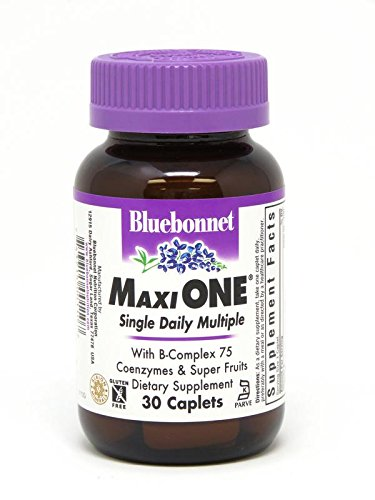 Bluebonnet Maxi One Iron Caplets, 30 Count -