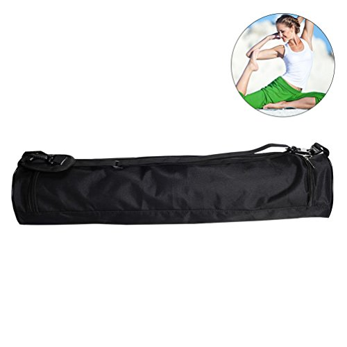 RUNACC Yoga Mat Bag Oxford Yoga Storage Bag with Detachable Shoulder Strap