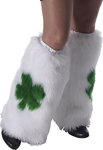 Forum Novelties St.Pat's Furry Leg Warmers