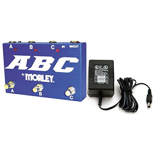 Morley ABC Selector/Combiner w/ Power Supply