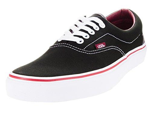 Vans Vewznvy Unisex-era Canvas Skateschoenen Zwarte Rabarber
