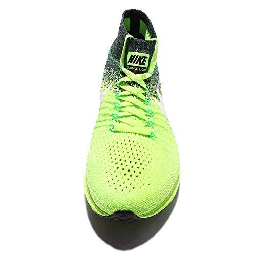 Nike Menns Zoome Ut Flyknit Løpesko Spøkelse Grønn / Hvit