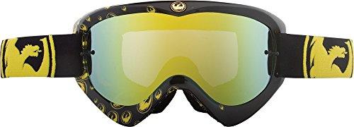 (Dragon Alliance Unisex-Adult Mdx Goggle (Icon/Gold Ionized Lens, One Size))