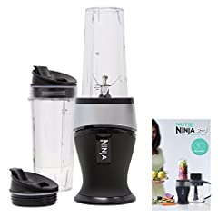 Fit more fruits and veggies in your daily routine with the Ninja Fit. The 700 watt power pod sits under the blender and makes short work of frozen or soft ingredients to make nutrient rich super juices and healthy meals. The Nutrient and Vita...
