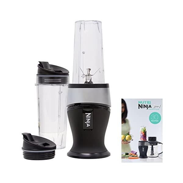 Ninja Personal Blender for Shakes, Smoothies, Food Prep, and Frozen Blending with...