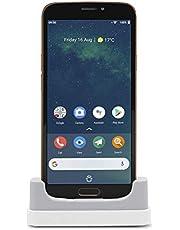 Doro 8080 smarttelefon (14,5 cm (5,7 tum) 18:9 IPS pekskärm, 16 MB kamera, Bluetooth 5.0, Wi-Fi, USB-C) svart