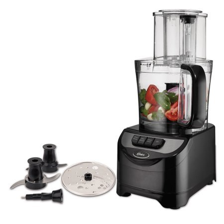 Oster Total Prep 10-Cup Food Processor with Dough Blade Small Appliances