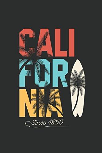 California Retro Travel Surfboard Palm Tree Art Print Mural Giant Poster 36x54 inch ()