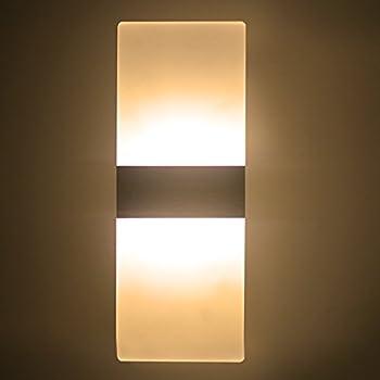 Modern Acrylic AC 85 265V 6W LED Wall Lamp Light Sconce Decorative Light  Fixture For Bedroom, Living Room, Balcony, Corridor, Bar, Coffee House, ...